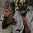 Hindu Sadhu — Stock Photo