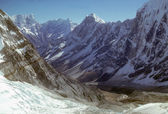 Alte vette e ghiacciai — Foto Stock