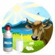Royalty-Free Stock Vector Image: Milk