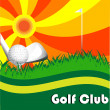 Golf Club - Stock Vector