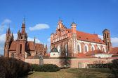 Churches in Vilnius, Lithuania — Foto de Stock