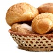 Arrangement of bread in basket — Stock Photo #2201015