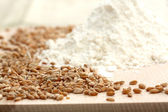 Whole grain flour — Stock Photo