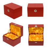Red box — Stock Photo