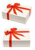 White box 2 view — Stock Photo