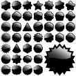 Royalty-Free Stock Vector Image: Black element