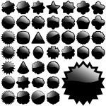 Black element — Stock Vector #1434973