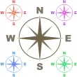 Compass set — Stock Vector #1435079