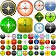 Compass set — Stock Vector #1435155