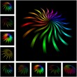 Royalty-Free Stock Vector Image: Rainbow design elements