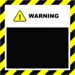 Royalty-Free Stock Vector Image: Vector warning banner. Vector template.