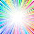 Sunburst abstract vector — Stock Vector