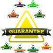 Royalty-Free Stock Vector Image: GUARANTEE label. Set of design elements for sale.