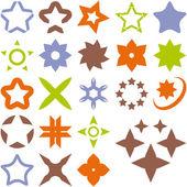 Vector symbols. — Stock Vector