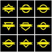 Vector shield for design — Stock Vector