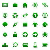 Vector collection of web buttons — Stockvector