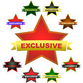 EXCLUSIVE. Set of design elements for sale. — Stock Vector