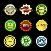 Vector label set for sale. — Stock Vector