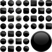 Set of design elements. Vector set. — Vector de stock