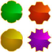 Set of design elements. Vector set. — Stock Vector