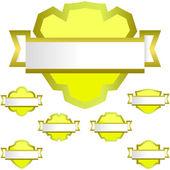Simboli araldici — Vettoriale Stock