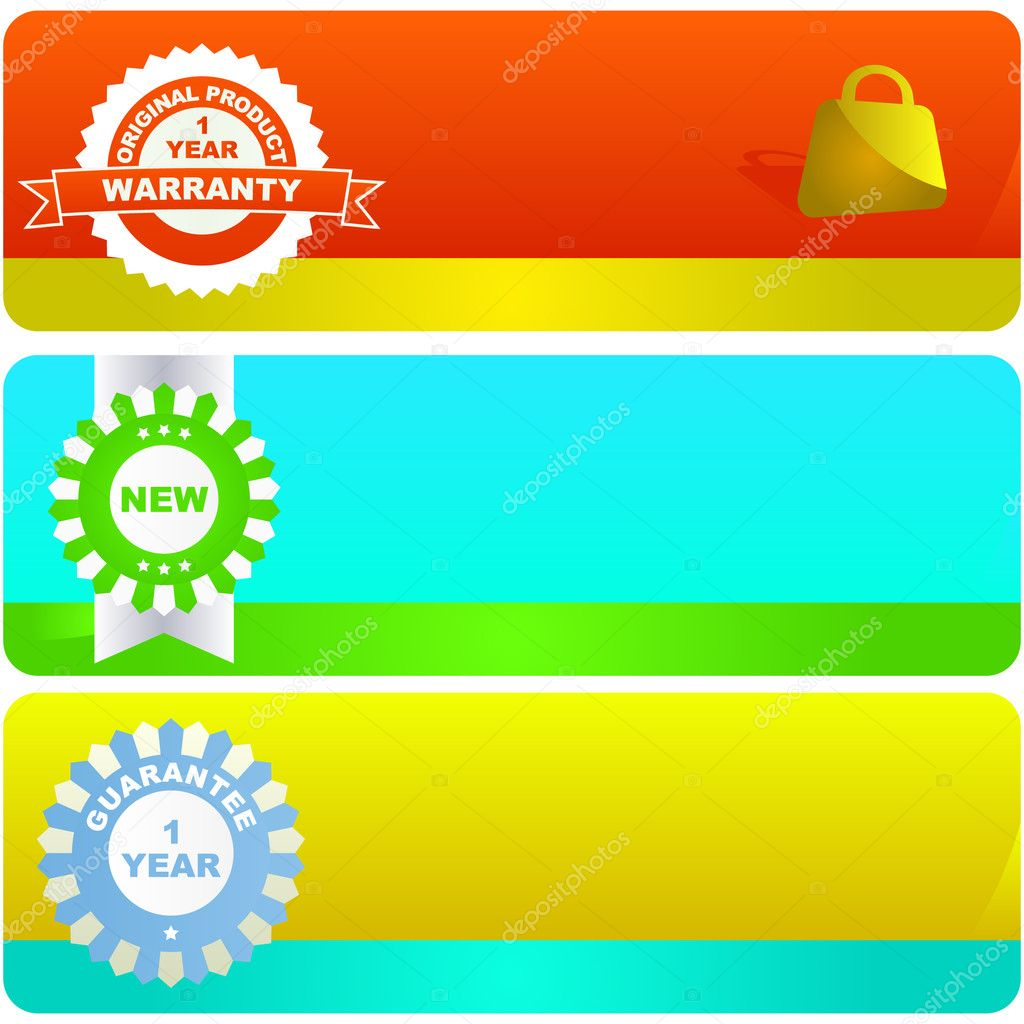 Vector banners for web — Stock Vector #1437060