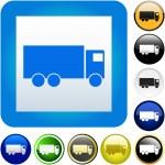 Truck buttons. — Stock Vector #1440361
