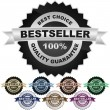 Bestseller emblem. - Grafika wektorowa
