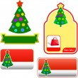 Royalty-Free Stock Vektorfiler: Set of New Year\'s banners