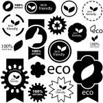 Öko-zeichen — Stockvektor