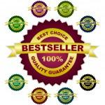 Bestseller emblem. — Stock Vector #1440972
