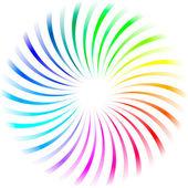 Rainbow element — 图库矢量图片