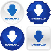 Download buttons. — Stock Vector