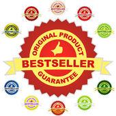 Bestseller emblem. — Stock Vector