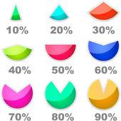 Statistics vector — Stock Vector