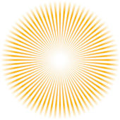 Sunburst vector. — Stock Vector