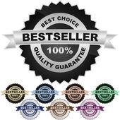 Bestseller znak. — Stock vektor