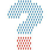 Question elements. — Stock Vector