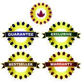 векторные знаки для продажи. — Cтоковый вектор