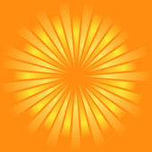 Sunburst vector. — Stock Vector