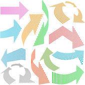 Useful arrows. — Stock Vector