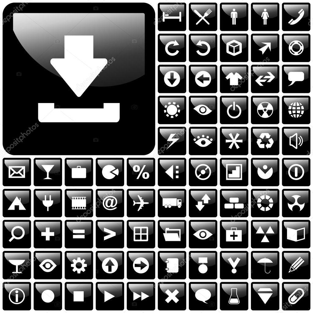 иконки вектор:
