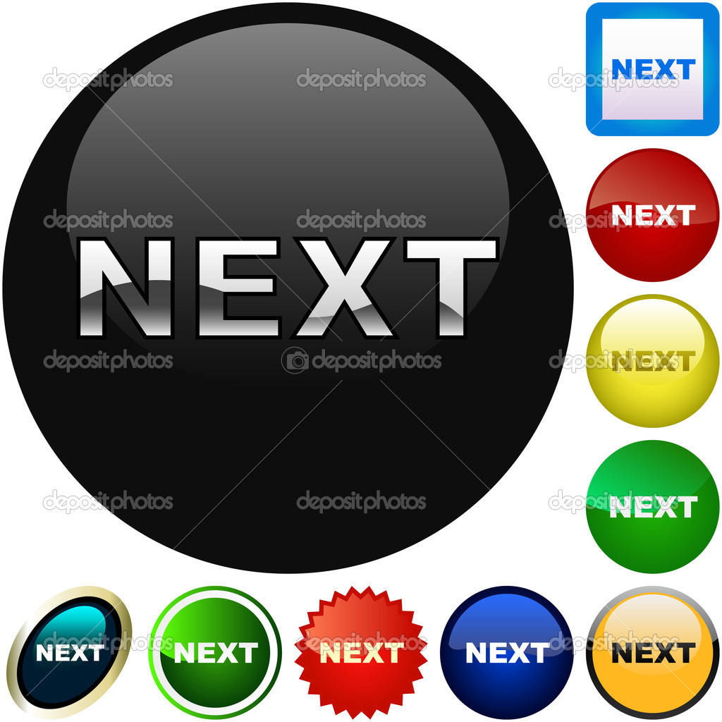 how to create next button in html