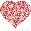 Royalty-Free Stock Vector Image: Seamless background with heart.
