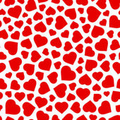 Seamless background with heart. — Stock Vector