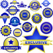 Royalty-Free Stock Vector Image: Set of design elements for sale. Great collection.