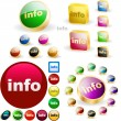 Information button set — Stock Vector #2563761