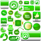 Set of design elements for sale. Great collection. — Stock Vector