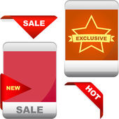 Set of design elements for sale. Great collection. — Stockvector