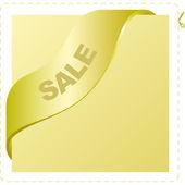 Vector sale banner — Stock Vector